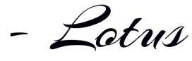 lotus-calligraphy